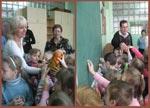 Экскурсия детсадовцев по лицею. ГБПОУ РО «Таганрогский техникум строительной индустрии и технологий»