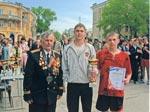 Победители эстафеты ко дню Победы. ГБПОУ РО «Таганрогский техникум машиностроения и металлургии «Тагмет»