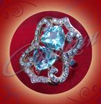 Женское кольцо из золота. Ювелирная мастерская Сорокина О.В.