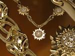 Золотое колье «Воспоминание о лете». Ювелирная мастерская Сорокина О.В.