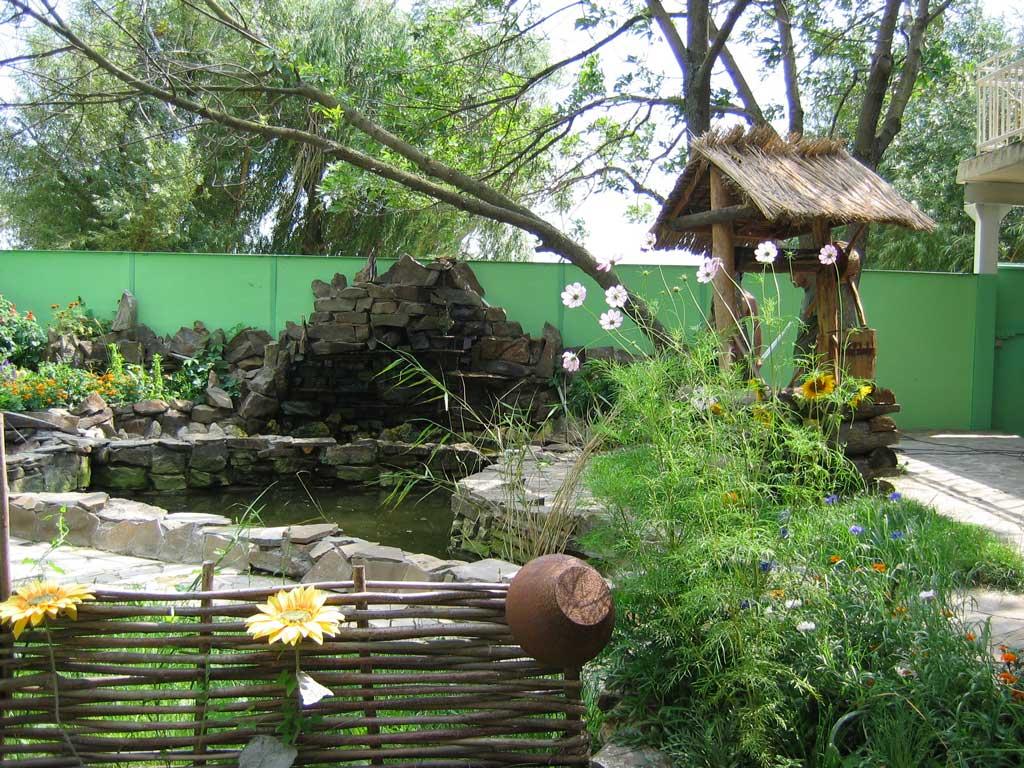 Дизайн малых садов