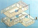 Сервисный центр «Белый медведь» - Допустимые варианты размещения внутренних блоков