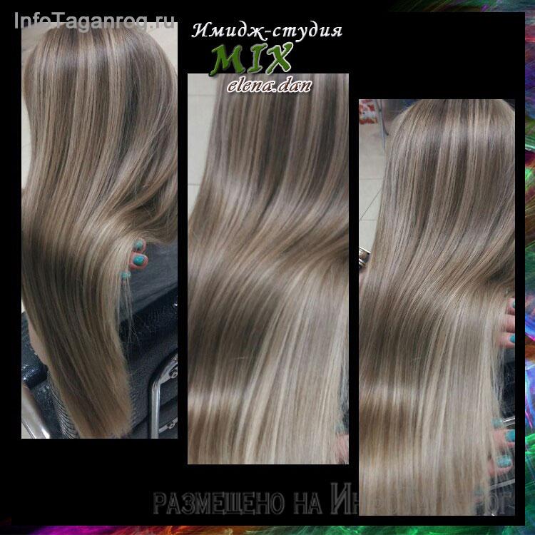 мелирование щадящая краска для волос