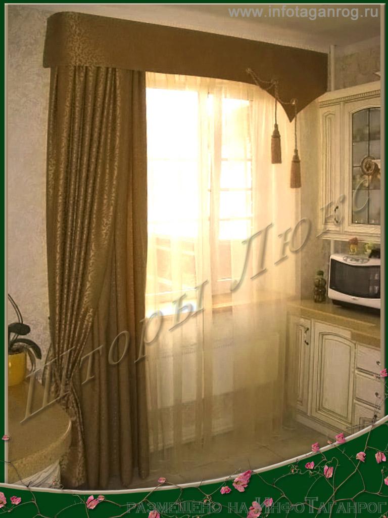Современные шторы для кухни фото