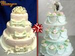 Торты свадебные. Кондитерский цех «Фантазия»