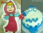 Детские торты. Кондитерский цех «Фантазия»