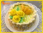 Торт «Абрикосовый рай». Кондитерский цех «Ириска»