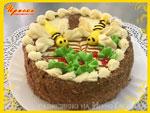 Торт «Медовый». Кондитерский цех «Ириска»