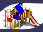 Детские игровые площадки. Башни водонапорные и оборудование от «ТагМаш»