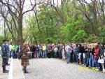 ГБОУ СПО РО «Таганрогский механический колледж» - Митинг Памяти у Вечного огня