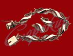 Комплект: браслет и серьги. Ювелирная мастерская Сорокина О.В.