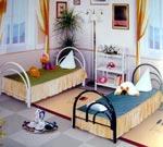 Односпальные кровати «Фонтан-2» и «Радуга-2»