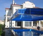 Компания «Тент Дизайн» - Укрытие для бассейна с дистанционным управлением