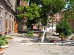 Внутридворовая территория больницы. МБУЗ «Городская больница №3»