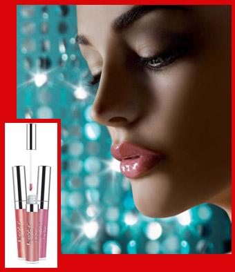 Блеск для губ. Парфюмерия и косметика, сеть фирменных магазинов «Светлана»