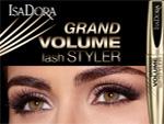 Тушь для ресниц IsaDora Grand Volume Lash Styler. Парфюмерия и косметика, сеть фирменных магазинов «Светлана»