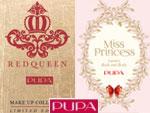 PUPA Milano: Miss Princess; RED QUEEN.  Парфюмерия и косметика, сеть фирменных магазинов «Светлана»