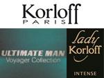 Парфюмы Korloff Paris: Ultimate Man и Lady Korloff Intense. Парфюмерия и косметика, сеть фирменных магазинов «Светлана»