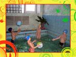 Занятия в бассейне. Центр здоровья, красоты и долголетия «ДиВа»