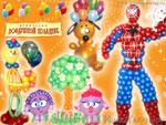 Мультгерои. Украшение шарами от «Воздушный праздник»