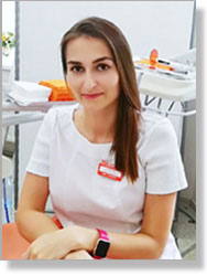 Мария Юрьевна Федотова. Врач-стоматолог